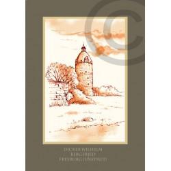 "Geschenkkarte ""Bergfried Dicker Wilhelm"""
